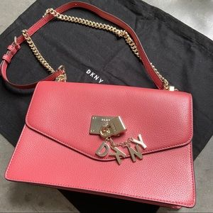 DKNY Red/Pink Small Shoulder bag